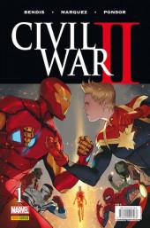 Civil War II (2016)  -1- Issue # 1