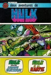Hulk (3e Série - Arédit - Gamma) -Rec04- Album N°20 (n°6 et n°7)