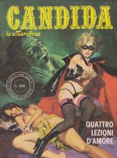 Candida la Marchesa (2e série, en italien) -3- Quattro lezioni d'amore
