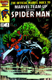 The official Marvel index to Marvel Team-Up (1986) -4- Issue # 4