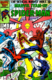 The official Marvel index to Marvel Team-Up (1986) -5- Issue # 5