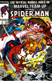 The official Marvel index to Marvel Team-Up (1986) -6- Issue # 6