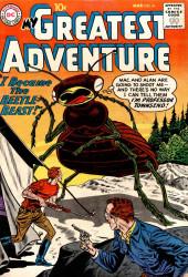 My greatest adventure Vol.1 (DC comics - 1955) -41- I Became the Beetle-Beast!