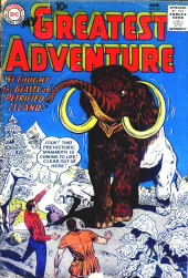 My greatest adventure Vol.1 (DC comics - 1955) -44- We Fought the Beasts of Petrified Island!