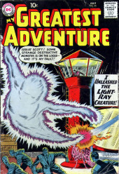 My greatest adventure Vol.1 (DC comics - 1955) -45- I Unleashed the Light-Ray Creature!