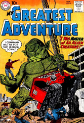My greatest adventure Vol.1 (DC comics - 1955) -46- I Was Master of an Alien Creature!