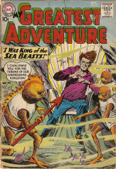My greatest adventure Vol.1 (DC comics - 1955) -47- I Was King of the Sea Beasts!