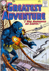 My greatest adventure Vol.1 (DC comics - 1955) -48- I Was Marooned on Earth!