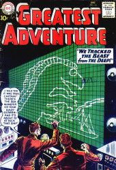 My greatest adventure Vol.1 (DC comics - 1955) -50- We Tracked the Beast from the Deep!