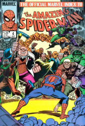 The official Marvel Index to Amazing Spider-Man (1985) -4- Issue # 4