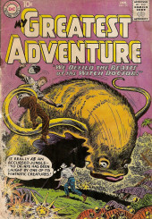 My greatest adventure Vol.1 (DC comics - 1955) -51- We Defied the Beasts of the Witch Doctor!