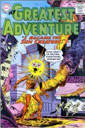 My greatest adventure Vol.1 (DC comics - 1955) -52- I Became the Sun Creature!