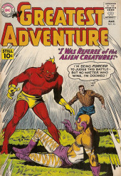 My greatest adventure Vol.1 (DC comics - 1955) -53- I Was Referee of the Alien Creatures!