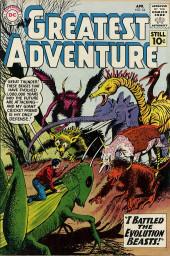 My greatest adventure Vol.1 (DC comics - 1955) -54- I Battled the Evolution Beasts!