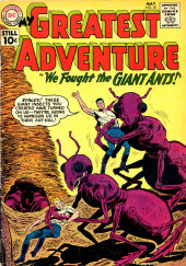 My greatest adventure Vol.1 (DC comics - 1955) -55- We Fought the Giant Ants!