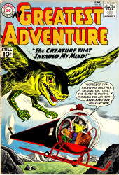 My greatest adventure Vol.1 (DC comics - 1955) -56- The Creature That Invaded My Mind!