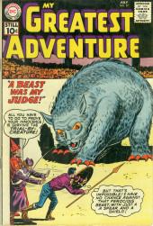 My greatest adventure Vol.1 (DC comics - 1955) -57- A Beast Was My Judge!