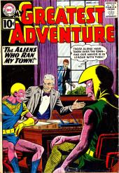 My greatest adventure Vol.1 (DC comics - 1955) -58- The Aliens Who Ran My Town!