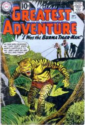 My greatest adventure Vol.1 (DC comics - 1955) -59- I Was the Burma Tiger-Man!