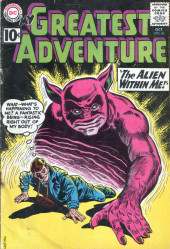 My greatest adventure Vol.1 (DC comics - 1955) -60- The Alien within Me!
