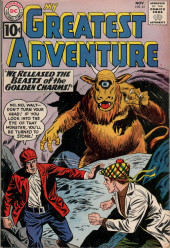 My greatest adventure Vol.1 (DC comics - 1955) -61- We Released the Beasts of the Golden Charms!