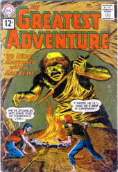 My greatest adventure Vol.1 (DC comics - 1955) -62- We Were Marooned with a Man-Beast!