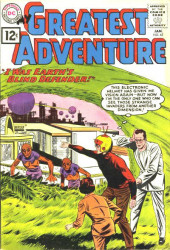 My greatest adventure Vol.1 (DC comics - 1955) -63- I Was Earth's Blind Defender!