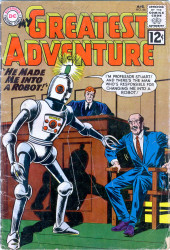 My greatest adventure Vol.1 (DC comics - 1955) -66- He Made Me into a Robot!
