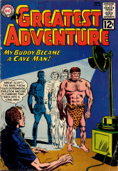 My greatest adventure Vol.1 (DC comics - 1955) -68- My Buddy Became a Cave-Man!