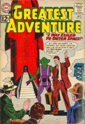 My greatest adventure Vol.1 (DC comics - 1955) -69- I Was Exiled to Outer Space!