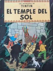 Tintin (en langues régionales) -14Catalan- El temple del sol