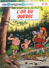 Les tuniques Bleues -26a1993a- L'or du Québec