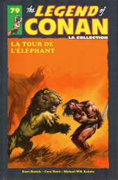 Savage Sword of Conan (The) (puis The Legend of Conan) - La Collection (Hachette) -79- La tour de l'eléphant