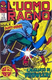 L'uomo Ragno V1 (Editoriale Corno - 1970)  -94- L'Agguato di Prowler