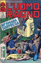 L'uomo Ragno V1 (Editoriale Corno - 1970)  -97- Un'Amara Sorpresa