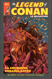 Savage Sword of Conan (The) (puis The Legend of Conan) - La Collection (Hachette) -81- La couronne ensanglantée