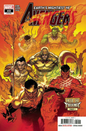 Avengers Vol.8 (Marvel comics - 2018) -40- Enter the Phoenix - Part 1: Sleep Now in the Fire
