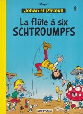 Johan et Pirlouit -9c1983- La flûte à six schtroumpfs