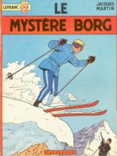 Lefranc -3a1974- Le mystère borg
