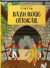 Tintin (en langues régionales) -8Breton- Bazh-roue Ottokar