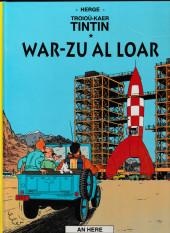 Tintin (en langues régionales) -16Breton- War-zu al Loar