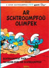 Schtroumpfs (en langues régionales) -11Breton- Ar schtroumpfoù olimpek