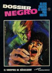 Dossier Negro -1- El vampiro de Düsseldorf