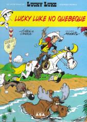 Lucky Luke (As aventuras de) (en portugais) -1- Lucky Luke no Quebeque