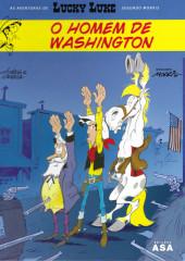 Lucky Luke (As aventuras de) (en portugais) -3- O homem de Washington