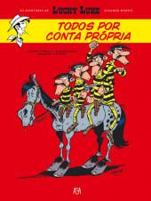 Lucky Luke (As aventuras de) (en portugais) -5- Todos por conta própria