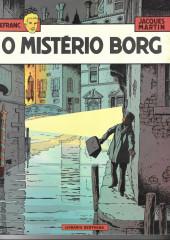 Lefranc (en portugais) -3- O mistério Borg