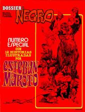 Dossier Negro -HS06- Número especial Esteban Maroto