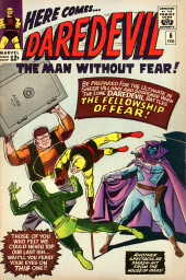Daredevil Vol. 1 (Marvel - 1964) -6- Trapped by... the Fellowship of Fear!