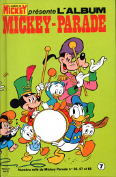 Mickey Parade -3REC07- 3e série - Album n°7 (n°86, 87 et 88)